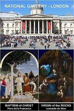 MUSEUM SOUVENIR FRIDGE MAGNET - NATIONAL GALLERY & DELLA FRANCESCA & DA VINCI