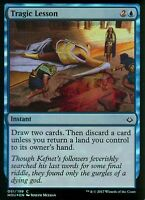 Tragic Lesson FOIL | NM/M | Hour of Devastation | Magic MTG