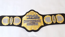 TNA Wrestling Heavyweight Championship Belt Replica Adult Size Metal plates