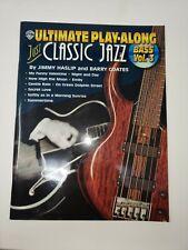 Electric Bass / Upright Bass Beginner Jazz Book w/Cd for Double Bass No Reserve!