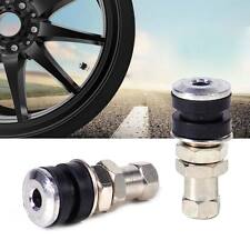 2x Tire Wheel Schrader Valve Tubeless No Tube Stem Motorcycle Bike ATV Bicycle