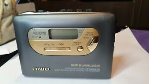 Aiwa JX629 Walkman Radio Cassette Recorder/ Player & Clock Fully Working