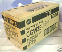 SEALED CASE OF 12 HOT WHEELS STAR WARS CARS R2D2/YODA/VADER/SKYWALKER/CHEWBACCA