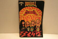1989 Revolutionary Comics Rock N Roll Metallica Comic Book #2 Lyndal Ferguson