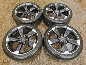 """Genuine OPTIONED AUDI ROTOR S LINE 19"""" Wheels - 5x112 - A3 A4 upgrade"""