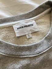 Norse Projects Vagn Classic Crew Sweat Grey Mens Large