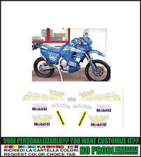kit adesivi stickers compatibili xtz 750 super tenere  gauloises dakar