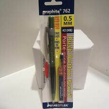 Staedtler Graphite 762 GREEN Mechanical Pencil, 0.5 mm, Spare Lead Tube-Blister