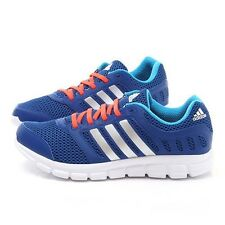 Adidas Breeze 101 2 Run Cool Blue/Silver Running Shoes Size 9 M18404. NIB