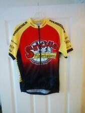 5006df03e Vintage Retro Sport Cycling Jersey Shirt Top Size S Skiclub Pluderhausen