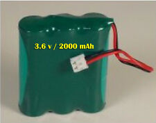 3.6V Ni-MH Rechargeable Battery Pack for Motorola MBP35 Video Baby Monitor Unit