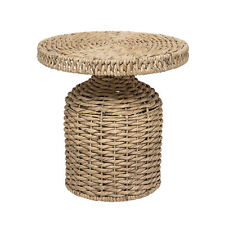 Bloomingville Rattan Table CAMO Side Table - Scandinavian Style, Height 47cm