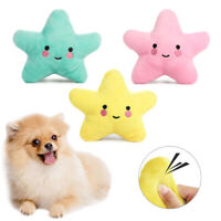 Pet Dog Puppy Chew Toy Squeaker Squeaky Soft Plush Play Sound Interactive Toys