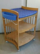 Stokke Baby Changing Table Changer Unit In Natural Wood Fab Condition