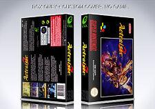 ACTRAISER 2. PAL. Box, Case. NO GAME. Super Nintendo. BOX + COVER PRINTED.