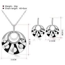 Resin Silver Plated Rhinestone Fashion Jewellery