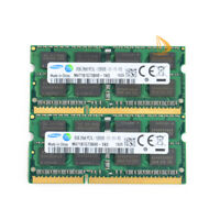 16GB Samsung 2x 8GB 2RX8 DDR3 1600MHz PC3L-12800S SODIMM Laptop RAM Memory 1.35v