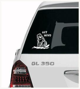 WINDSURFING GOT WIND Mistral JP Starboard HiFly Fanatic - car van decal sticker