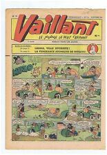 VAILLANT n° 72 - 26 septembre 1946. TBE