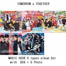 TXT TOMORROW X TOGETHER Japan 1st Single [MAGIC HOUR] 5 album BOX Photo Set