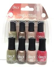 Orly Nail Lacquer - THE NEW NEUTRAL - MINI Pack of 4 Colors x 0.18oz/5.3ml