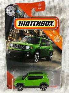 Matchbox Jeep Renegade Green - MBX City - Free Shipping