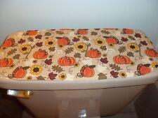 New Fall/Autumn Pumpkins & Sunflowers-Sm Table Runner-Toilet Tank Topper-Dresser