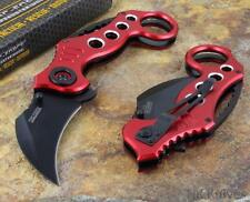 Tac-Force  Karambit Tactical Spring Assisted pocket knife RED/BLACK