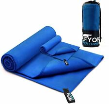 2 Pack Microfiber Travel Sports Towel  XL Ultra Absorbent and Quick Drying Swim