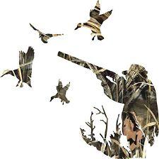 Camo bird shooting Sticker