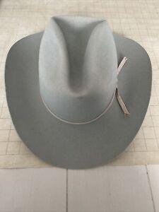 Resistol Skeen's Western Wear Self Conforming Hat 5x Beaver