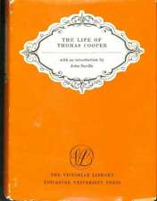 The life of Thomas Cooper, Saville, John, Good Condition Book, ISBN