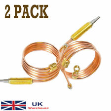 More details for 2 pcs universal gas fire thermocouple 900 mm heater electrolux oven cooker bbq