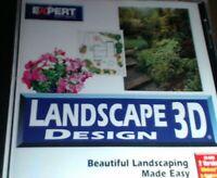 Expert Software Landscape 3D Design Home and Garden 1999 Windows 95,98