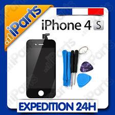 ECRAN LCD RETINA + VITRE TACTILE SUR CHASSIS POUR IPHONE 4S NOIR + OUTILS