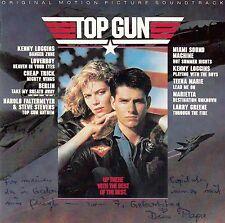 TOP GUN - ORIGINAL MOTION PICTURE SOUNDTRACK / CD (CBS CDCBS 70296)