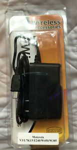 Motorola Wireless Accessories USB 2.0 Charger & Wall Adapter Look!