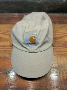 Carhartt Toddler Baby Canvas tan Hat Cap Hunting Working Used
