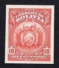 Bolivia 1900s 10 centavos stamp MH Proof R!R!R!