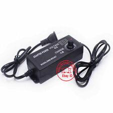 Adjustable DC 3-24V 2A Adapter Power Supply Motor Speed Controller EU /US Plug
