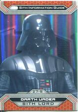 Star Wars Chrome Perspectives II Gold Parallel Base Card 27-S Darth Vader