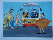 Hinde large comic PC Flashing Around Cornwall. Unposted. Flasher.