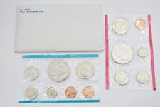 Better Date - 1973 U.S. Uncirculated Mint Set - Key Date Ike Dollars W/Env *743
