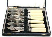 A Vintage Set of Six Sterling Plated EPNS Fish Cutlery Sets
