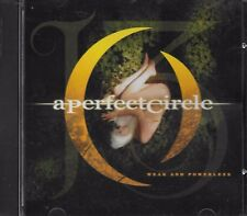 A PERFECT CIRCLE  Weak And Powerless  promo CD single with PicCover  TOOL