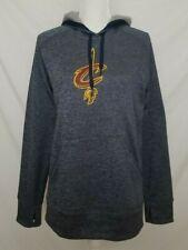 Adidas Climawarm Womens Large Cleveland Cavaliers Sweatshirt Hoodie Gray L/S EUC