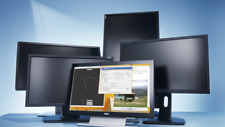 """LOT of (16) Widescreen Monitors MIXED BRANDS 19""""-to-24"""" CLASS (FREE SHIPPING)"""