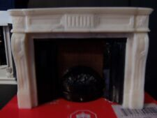 """DOLLHOUSE """"FIREPLACE WIRED FOR ELECTRIC"""""""