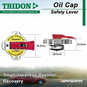 Tridon Safety Lever Radiator Cap for Isuzu Bighorn UBS13 25 52 55 69 D-Max TFR85