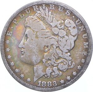 Beautiful Tone - 1883-O Morgan Silver Dollar - Nice Color *259